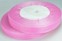 Лента органза 1,2см св.-розовая от 10 шт