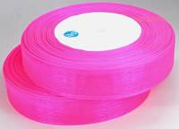 Лента органза 2см ультра-розовый от 5 шт