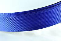 Лента репс 25мм 91м т.синяя