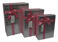 Коробка 3шт самая большая коробка 26х19см