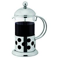 Кофейник /Заварник (нерж.+стекло, 1000мл.)