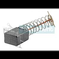 Электрощетки пара 8х12х15 с пружиной, контакт пятак большой
