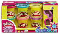 "Play-Doh набор пластилина ""Блестящая коллекция"" 6 баночек"