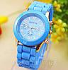 Женские часы Geneva Luxury Голубой Голубой Голубой