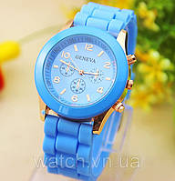 Женские часы Geneva Luxury Голубой Голубой Голубой, фото 1