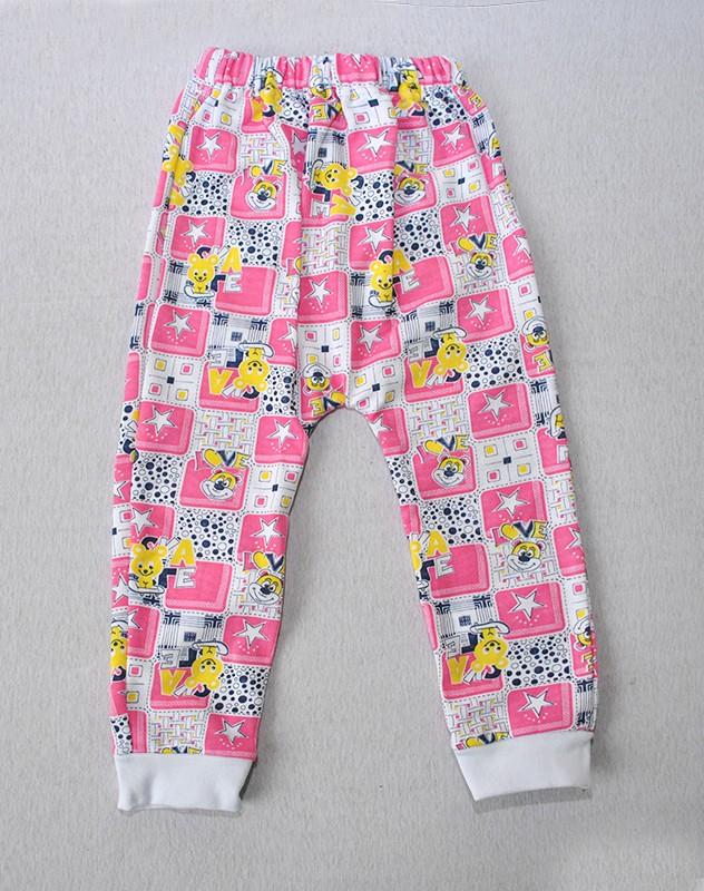 Штаны для девочки (начес) на рост 56-86 см