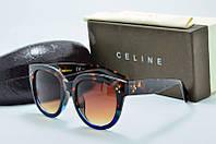 Солнцезащитные очки Celine коричневые