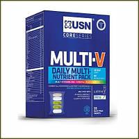 USN  Nutrition Multi-V Daily Nutrient Pack 30 pak