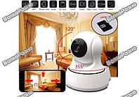Wi-Fi Ip-Камера / IP Camera / Камера видео наблюдения WiFi/ Беспроводная поворотная ip камера