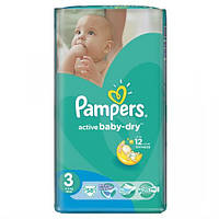 Подгузники Pampers Active baby 3 Midi (4-9 кг), 58 шт