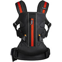 Рюкзак-кенгуру Baby Carrier One Outdoors Black BabyBjorn