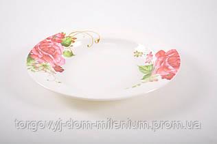 Тарелка  пластмассовая для пищевых продуктов 25см 2140