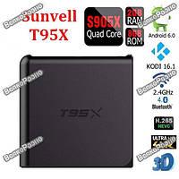Андроид Тв-Приставка smart tv box T95X 2 / 8