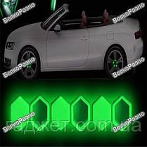 Колпачки силиконовые флуоресцентные на болты автомобильных дисков 20 штук , фото 3