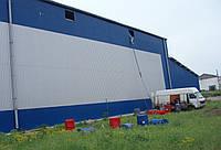 Утепление ангаров, овощехранилищ, холодильных камер, жилых домов, гаражей напыляемым пенополиуретано