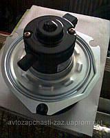 Электровентилятор печки Ланос 613186-01. Оригинальный моторчик печки с крыльчаткой на СЕНС. Мотор печки ШАНС