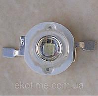 Мощный светодиод 3W зеленый 90-100 LM