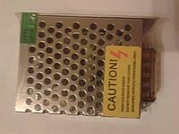 Блок питания понижающий для светодиодных лент 12V 25Вт (2.1А), фото 1