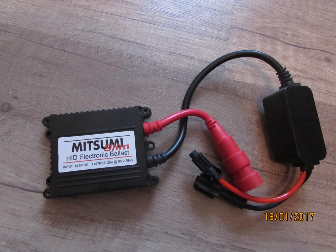 Комплект биксенона Mitsumi Slim Н4 (проводка-реле)