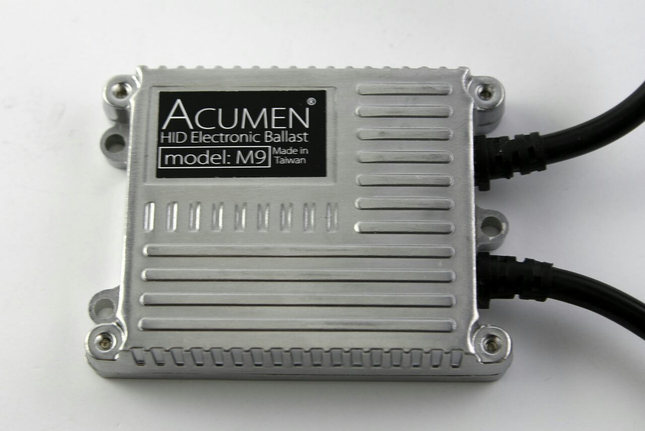Комплект биксенона Acumen Slim Н4 (проводка-реле)