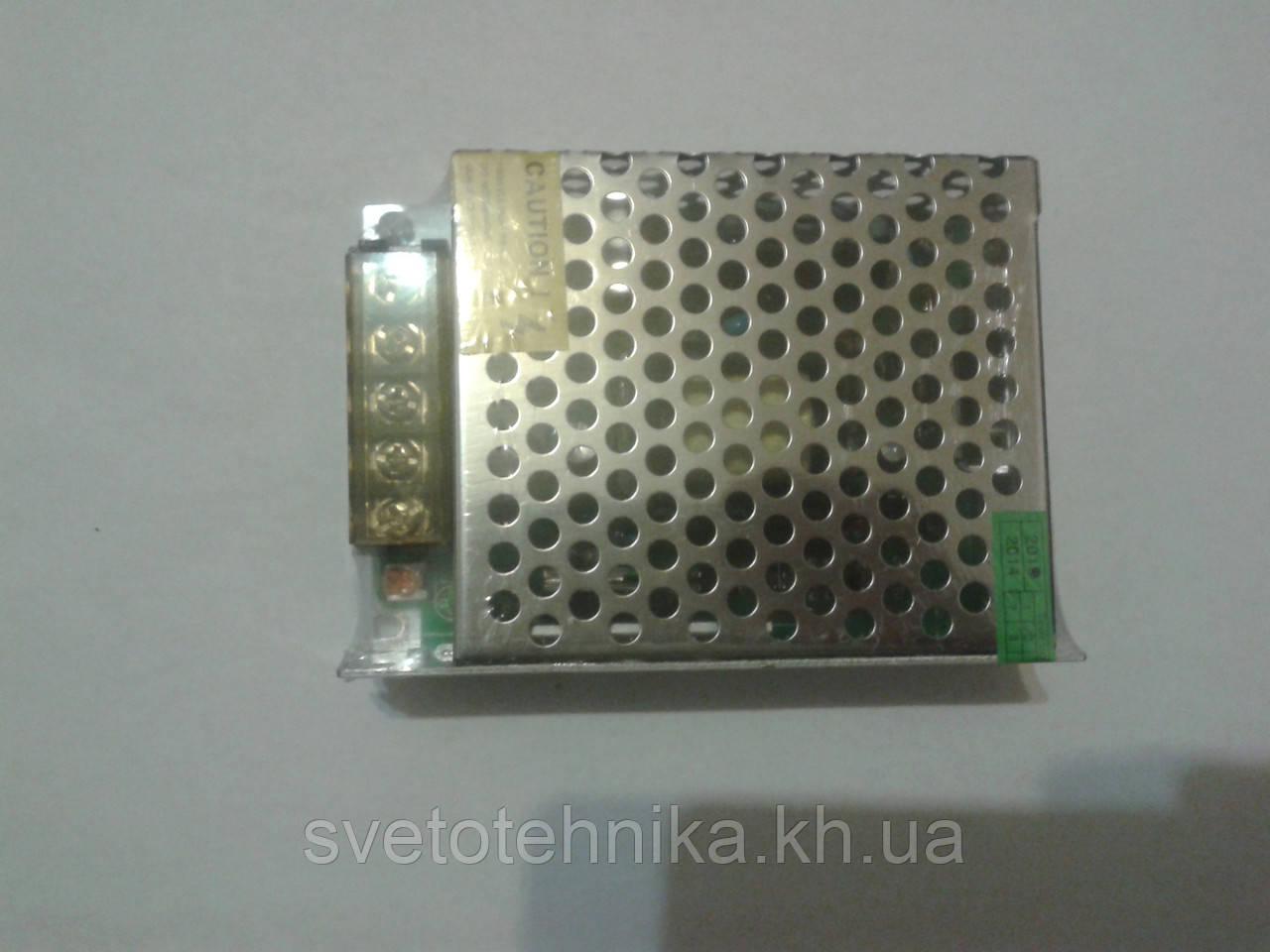 Блок питания понижающий для светодиодных лент 12V 40Вт