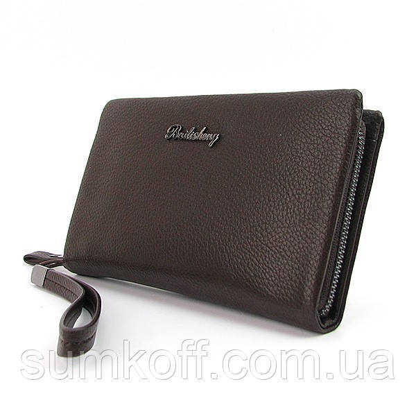 848e0bc7b528 Клатч мужской Bailisheng кожаный котричневый  продажа, цена в Днепре ...