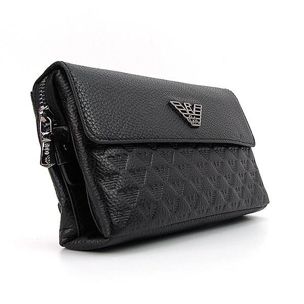 6d75c1be8060 Мужской клатч Armani с клапаном кожаный деловой  продажа, цена в ...