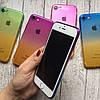 Силиконовый чехол омбре для iPhone 7, фото 4
