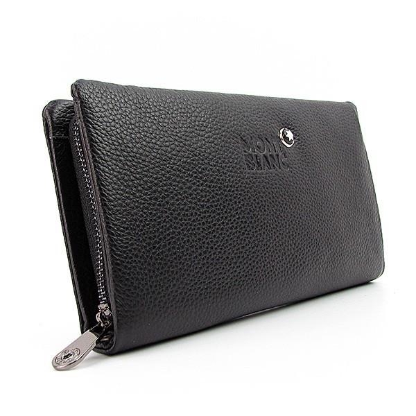 c8ff3cba7051 Мужской клатч классический Mont Blanc кожаный - Интернет магазин сумок  SUMKOFF - женские и мужские сумки