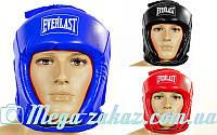Шлем боксерский открытый Elast 4493 (шлем для бокса): 3 цвета, S/M/L