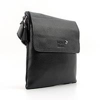 Мужская сумочка планшет черная Mont Blanc