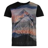 Футболка мужская Firetrap Graft Sub T Shirt Mens / Black
