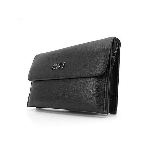 700ff83c5556 Мужской небольшой клатч Armani с клапаном кожа: продажа, цена в ...