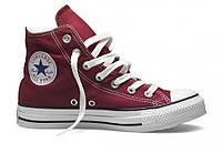 Кеды Converse All Star высокие бордовые