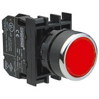 Кнопка зеленая без фиксации B200DK