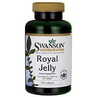 Маточное молочко / Royal Jelly, 1000 мг 100 гелевых капсул
