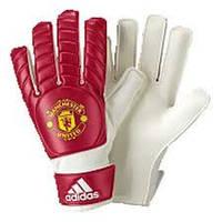 Детские перчатки для вратарей Adidas Manchester United Control Young Pro Goal Keeper Gloves AC2882