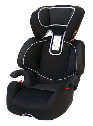Дитяче авто сидіння Michelangelo, Група 2/3 (15-36кг) забарвлення - чорний, фото 2