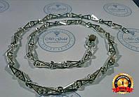 Серебряная цепочка Рокко-Барокко мужская