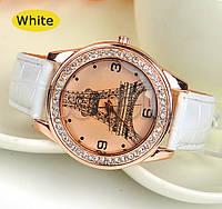 Часы женские наручные Париж Paris white (белый)