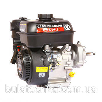 Двигун WEIMA(Вейма) WM170F/P (DELUXE) для WM1050 (7,0 л. с. з редуктором)