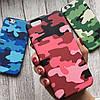 Камуфляжный силиконовый чехол для iPhone 6/6s