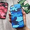 Камуфляжный силиконовый чехол для iPhone 6/6s , фото 3
