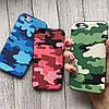Камуфляжный силиконовый чехол для iPhone 6/6s , фото 2