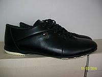 Повседневные кожаные мужские туфли