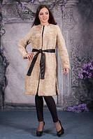 Пальто из овчины, фото 1