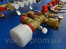 Коллекторная система Giacomini в сборе 4 контура, фото 3
