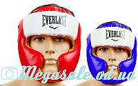 Шлем боксерский с полной защитой Elast 8207 (шлем бокс): 3 цвета, M/L/XL