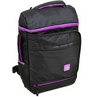 Городской рюкзак нейлоновый Lanpad 1830-hs черный, фото 1