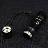 Ліхтар фокусируемый Bailong BL-8455 (Cree XPE-Q5, 180 люмен, 3 режими, 1х18650/3хААА), комплект, фото 3